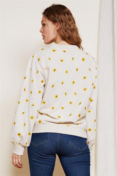 Fabienne Chapot lucy sweater sunny flowers emb