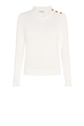 Fabienne Chapot molly lace pullover knoopjes