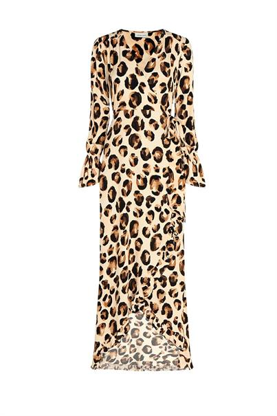 Fabienne Chapot tash dress panther love ruffle