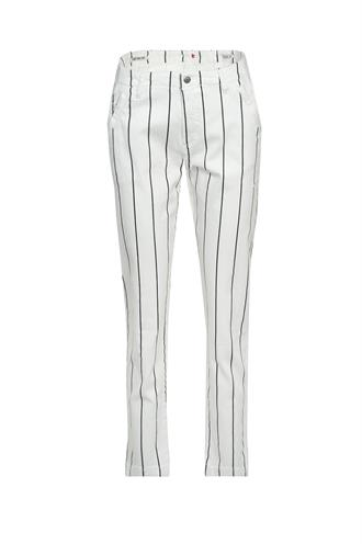 Florez chino striped sailor jeans