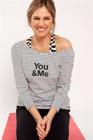 Foto you & me top long sleeve