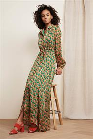 Frieda long dress dutch flower