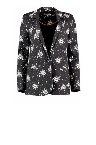 Fw18b203 small flower blazer
