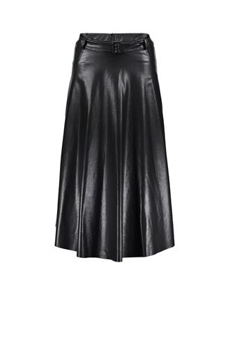 Geisha 06516-10 rok wijd fake leather