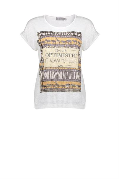 Geisha 12042-40 t-shirt optimistic