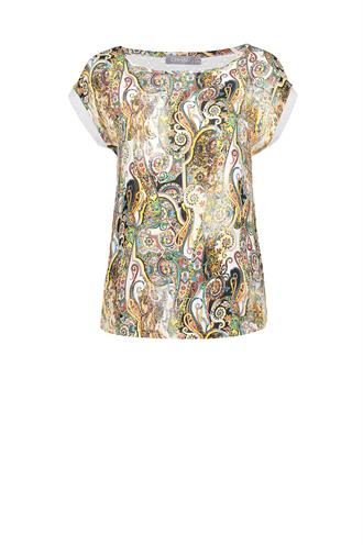 Geisha 13172-20 t-shirt top paisley