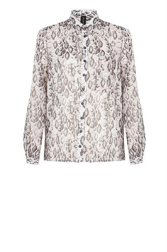 Gs719aw10p crepe snake blouse