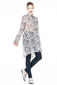 Gs919aw135 snake shirt dress