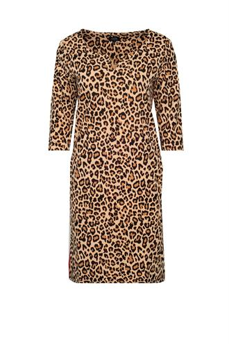 Harper dress sweat leopard