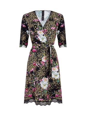 Jane Lushka ugf920ss89d staci wrap dress l