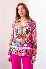 Janice dylan electric rever blouse