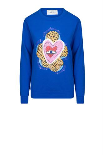 Janice jackson sweater heart