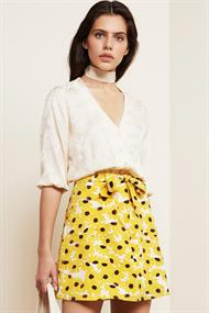 Jesse blouse sun flower damast
