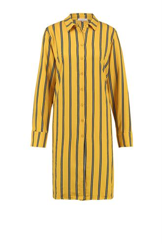L.O.E.S. carmo stripe blouse dress