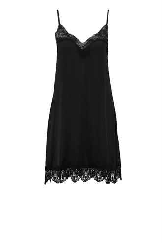 Lace dress 2 satijnen jurk