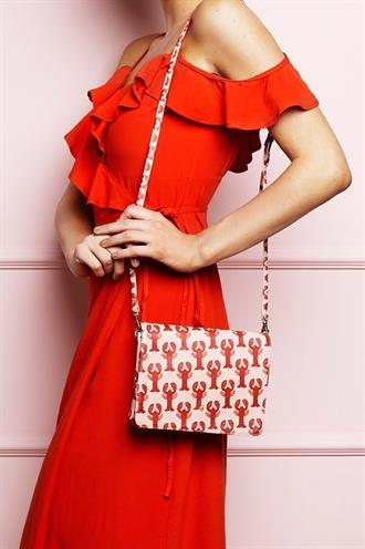 Lara bag printed lobster