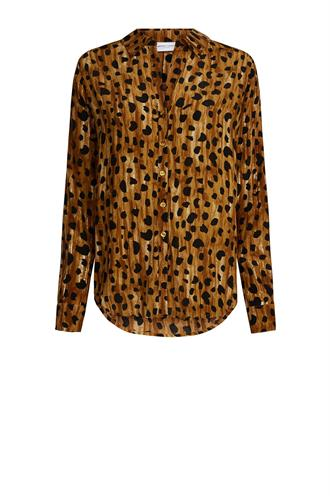 Lilly blouse cheeky cheetah