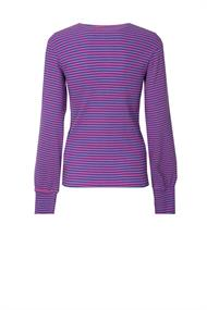 Lilou pullover streep knopen