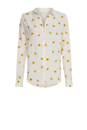 Lily embro blouse sunny flower