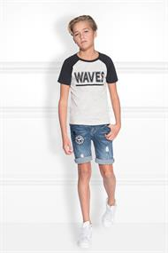 Limwood t-shirt b 8-718 waves