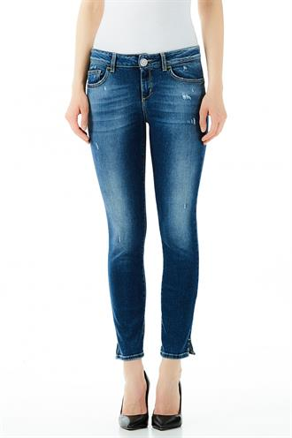 Liu Jo ua0009 d4448 jeans bottum up