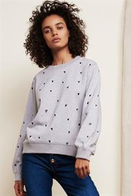 Lucy sweater lovely love emb.