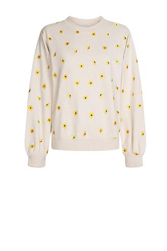 Lucy sweater sunny flowers emb