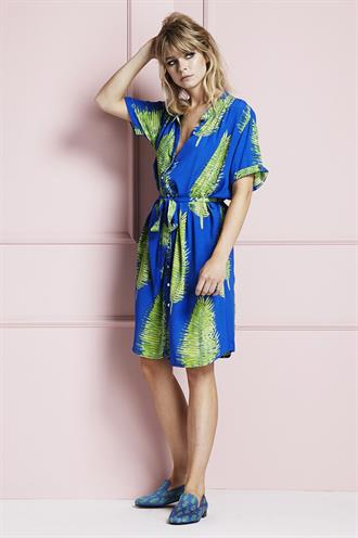 Maggie dress blue lagoon