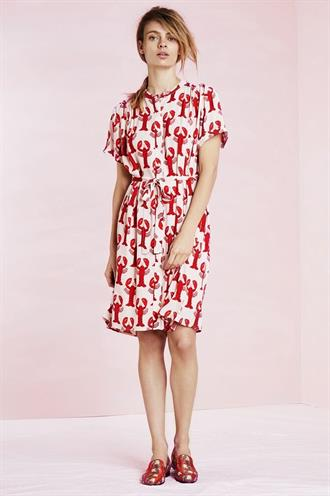Maggie dress lobster print