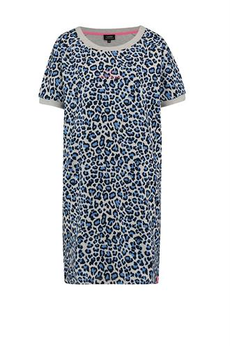 Marseille dress leopard dessin