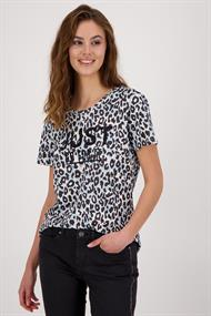 Monari 405907 t-shirt leopard just go
