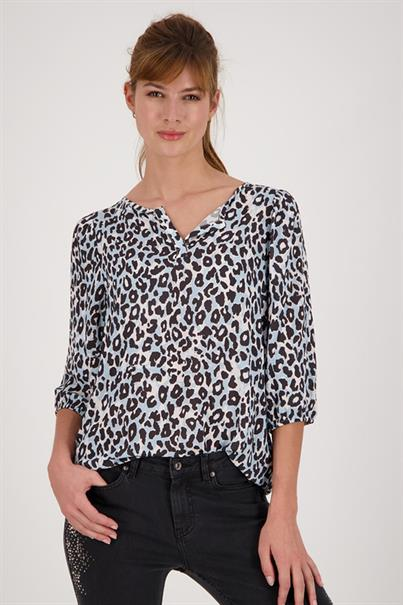 Monari 405908 blouse top leopard