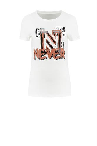 Never logo t-shirt n 6-065