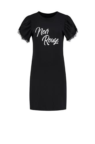 Noir rouge tee dress n 5-122