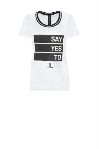 P618aw04 t-shirt say yes to ..