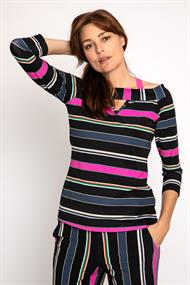 Parton stripe top medium tr.