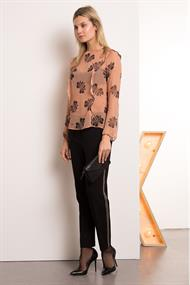 Percy print blouse butterfly