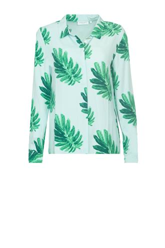 Perfect blouse citrus leaves