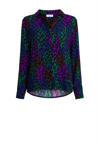Perfect blouse patchy leopard