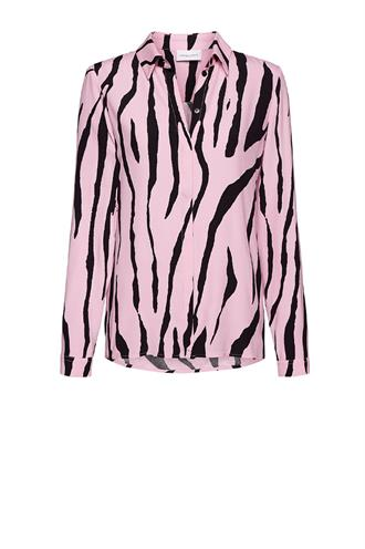 Perfect blouse pink zebra