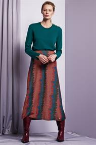 Phene skirt buring lava lurex