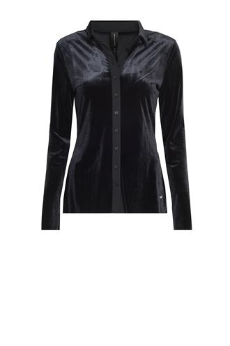 Pl718aw101 velours blouse