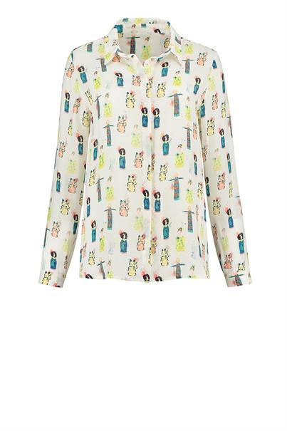 POM Amsterdam sp6201 blouse lucky charms
