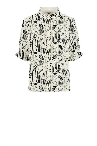 POM Amsterdam sp6485 print blouse berries