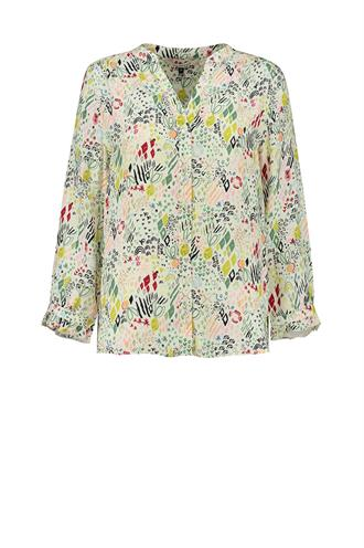 POM Amsterdam sp6542 print blouse nature hug