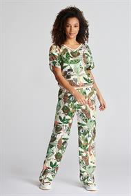 POM Amsterdam sp6552 print broek jungle beat
