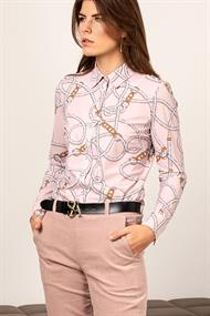 Poppy chain blouse light tr.