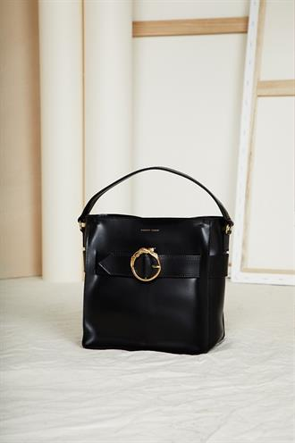Raisa bag small soave nero