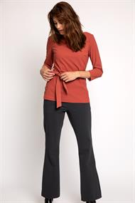 Rhea long sleeve top heavy tr.