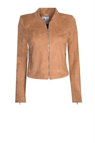 Rino&Pelle danai fake suede jacket